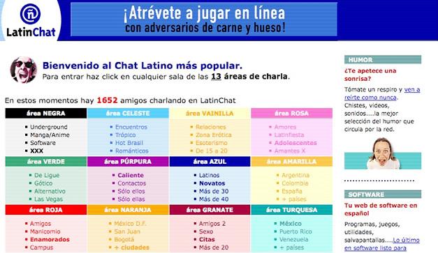 Latin chat gratis