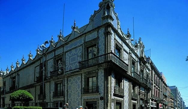 Sabores del centro chilango for Sanborns azulejos direccion