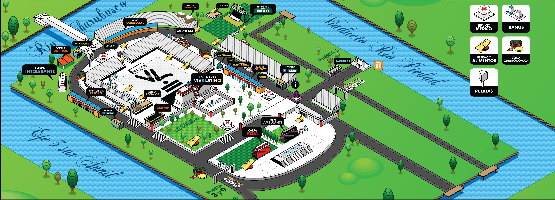 Vive latino mapa chilango for Puerta 5 foro sol