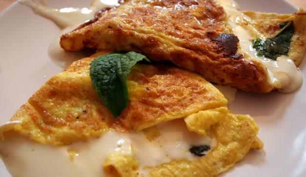 Tres desayunos caseros - Chilango