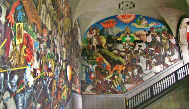 La Epopeya Del Pueblo Mexicano Por Diego Rivera Chilango