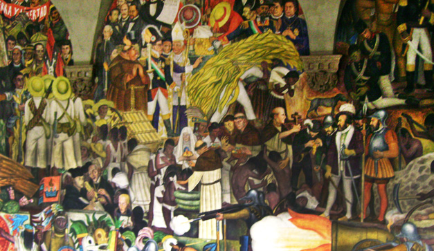 Revolucion mexicana diego rivera for Arte mural mexicano