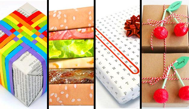 11 envolturas muy originales chilango for Envolturas para regalos