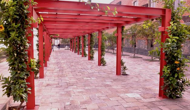 Historia del palacio negro chilango for Central jardin rosiere