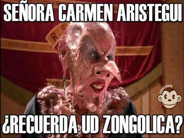 meme los memes de laura bozzo vs aristegui chilango
