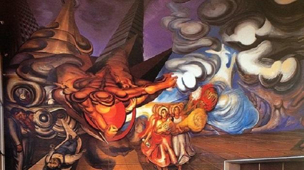 Siqueiros en la ciudad de m xico chilango for El mural de siqueiros pelicula