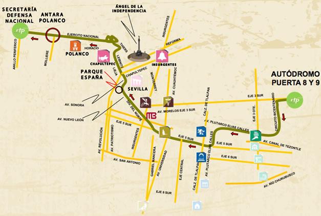Circuito Bicentenario : Mapa del circuito bicentenario italia todo