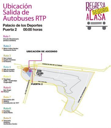 Regresa seguro a casa despu s del vive latino chilango for Puerta 7 palacio delos deportes