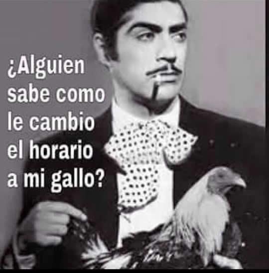 Memes Del Horario De Verano Chilango