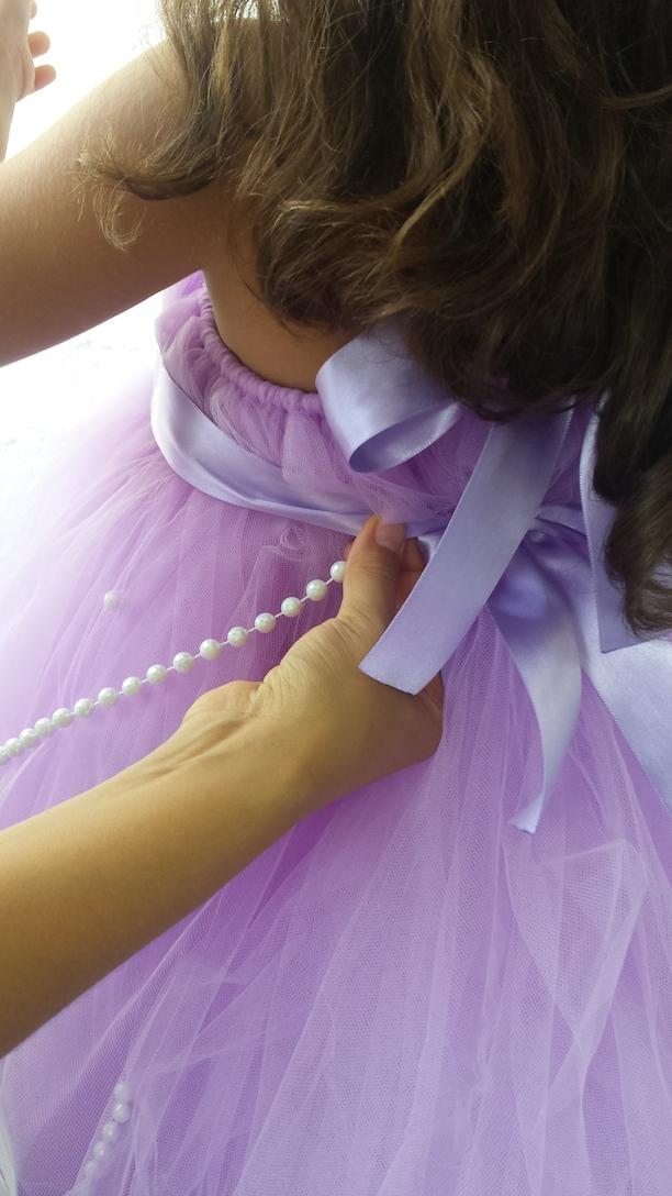 Instrucciones para hacer disfraz de Princecita Sofía para tu peque ...