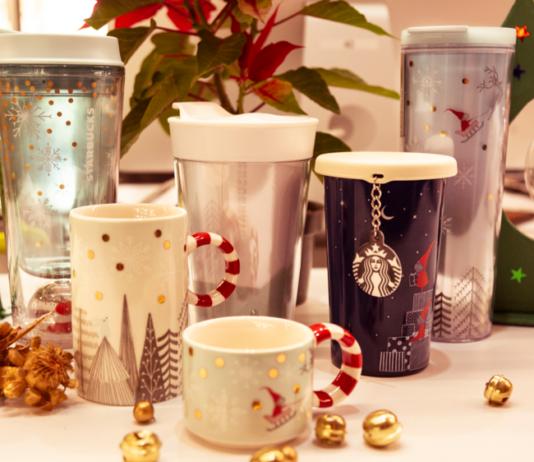 regalos navideños en Starbucks