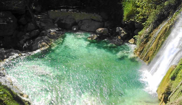 Cascadas de Aconco