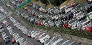 tráfico en la CDMX