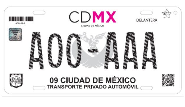 f44de1759 Este es el nuevo costo de placas y tarjeta de circulación en la CDMX ...