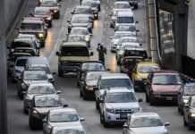 caos vial en Circuito Interior