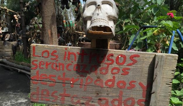 xochimilco isla de las munecas