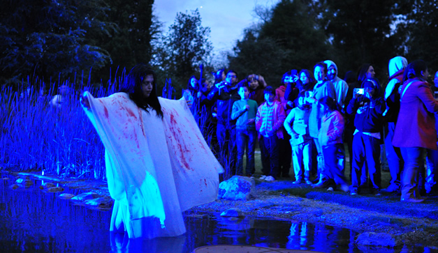Resultado de imagen de xochitla noche de muertos