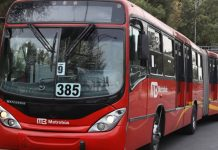 asaltante del metrobús
