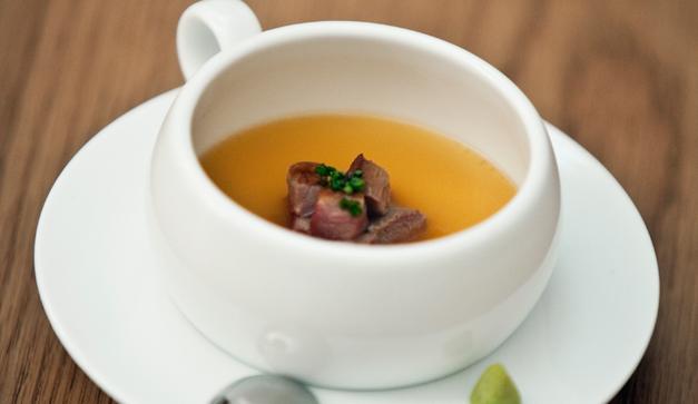 Foie gras chawanmushi