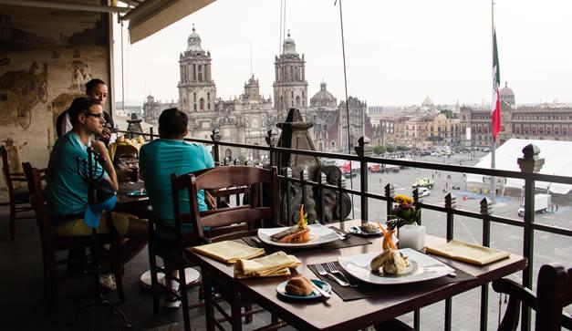 La Terraza Del Gran Hotel De La Ciudad De M Xico Chilango