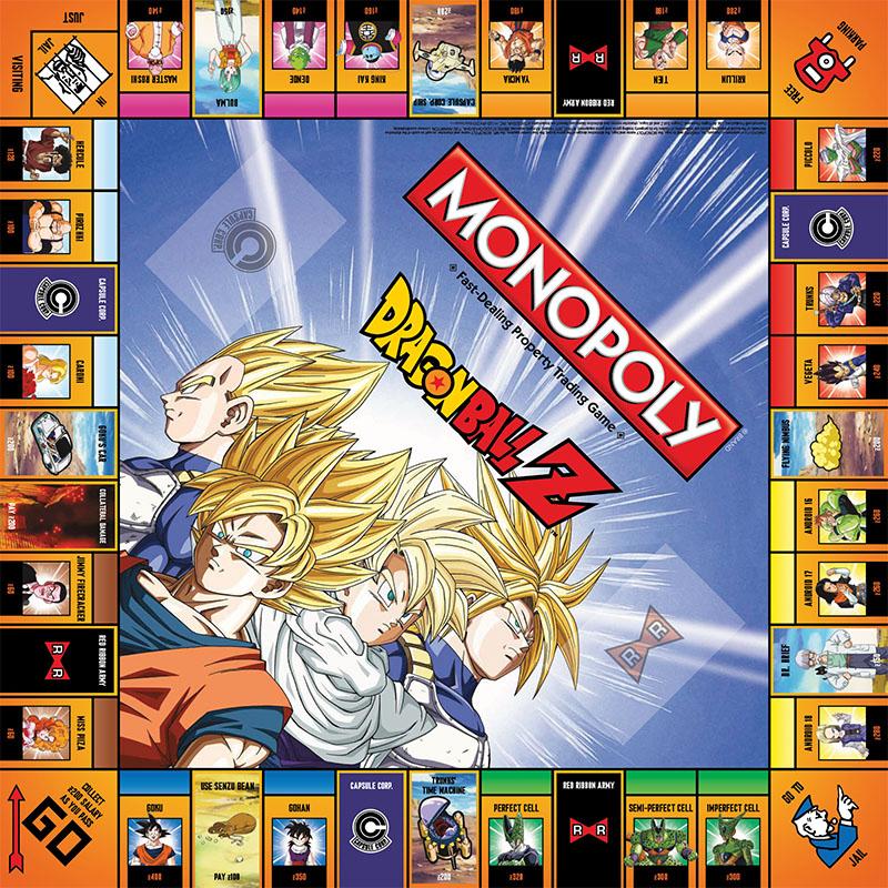 Dragon ball z tendr versi n especial de monopoly - Image de dragon ball z ...