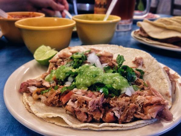 Traci Des Jardins's Carnitas Tacos Recipe — Dishmaps