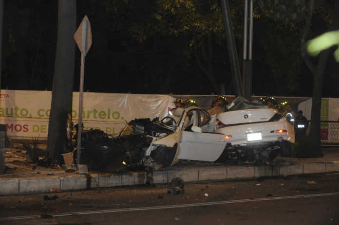 Accidente BMW Reforma