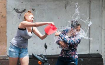 multas por desperdiciar agua en Sábado de Gloria
