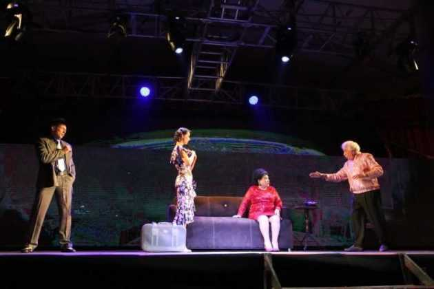 Carmen Salinas en Aventurera en el Zócalo
