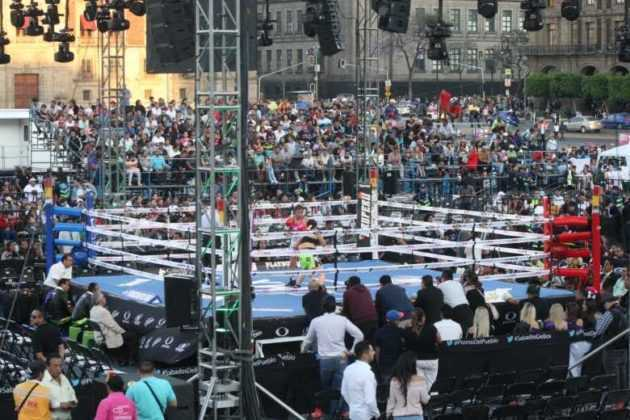 Box femenil Zócalo