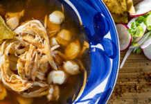 Comida mexicana receta