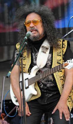 Javier Bátiz en el Zócalo