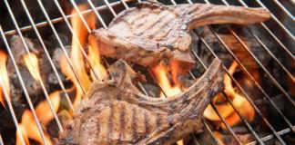 Carne asada a la parrilla