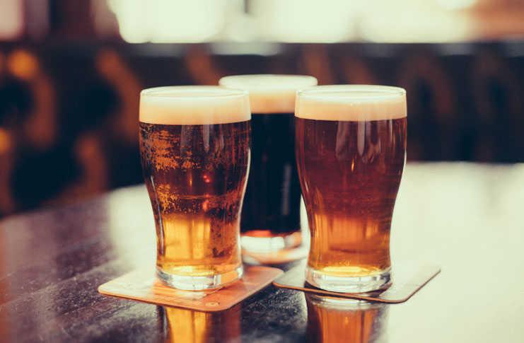 Trío de cervezas artesanales