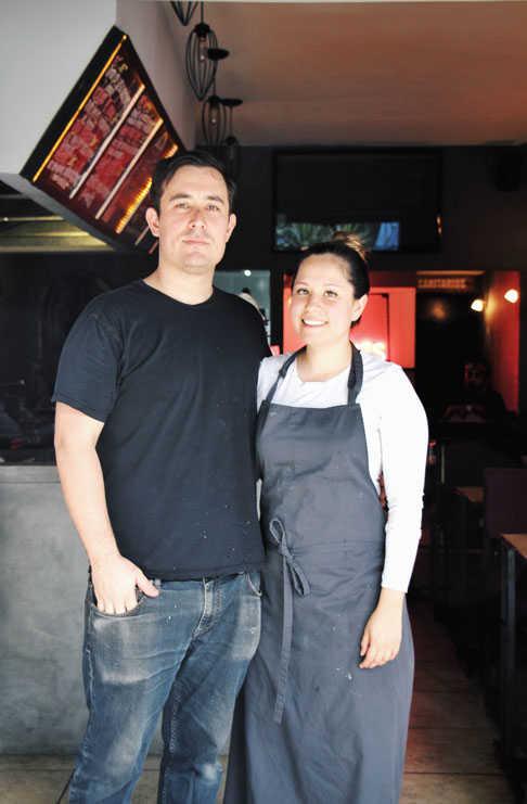 Allen Novack y María Fernanda Millán