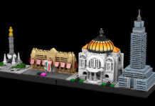 Ciudad de México hecha de legos