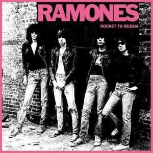 Portada disco Ramones