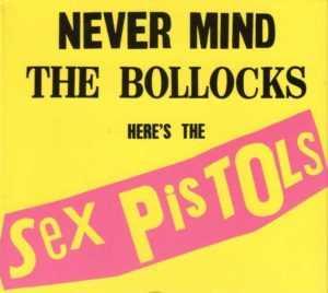 Portada disco Sex Pistols