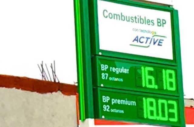tarifa combustible bp