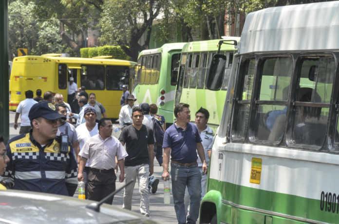 Camiones y micros CDMX