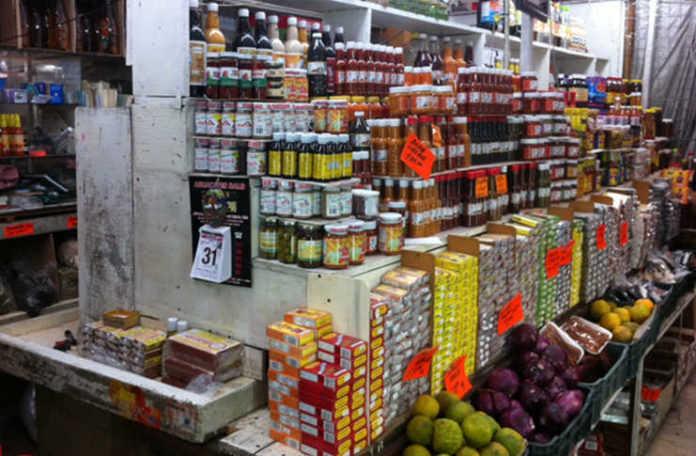 Productos yucatecos en el Mercado de Medellín