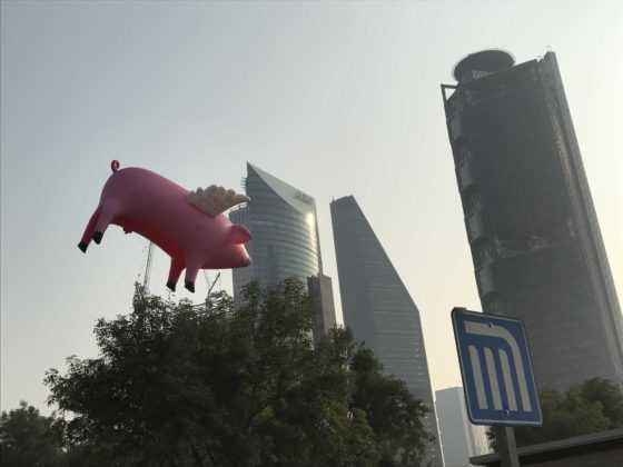 Cerdos vuelan CDMX