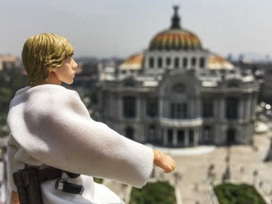 Star Wars en CDMX Luke Skywalker