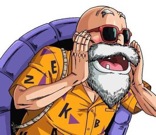 Maestro Roshi enseña a Goku