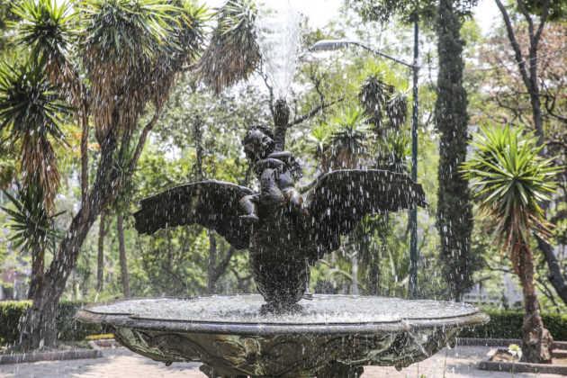 Parque Lira fuente