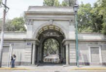 Parque Lira entrada