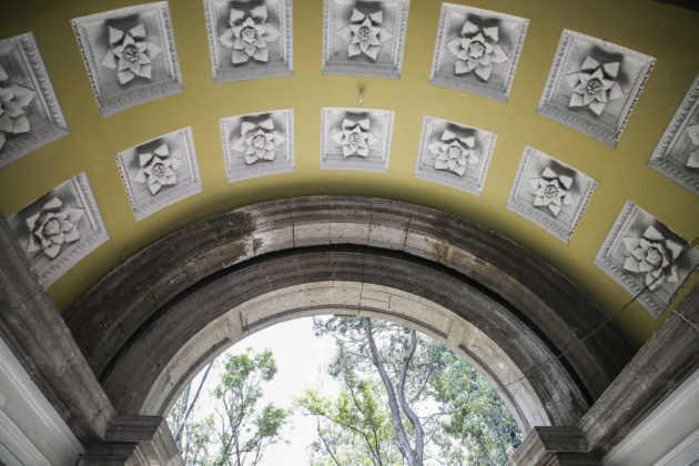 Parque Lira arco entrada