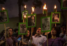 Protesta periodista Segob
