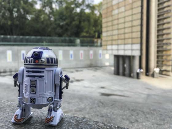 Star Wars en CDMX R2D2
