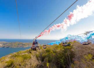 tirolesa más largas del mundo